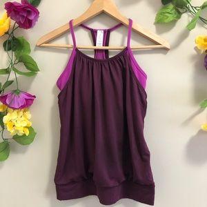 Ivivva (Lululemon Girls) Purple Tank Top